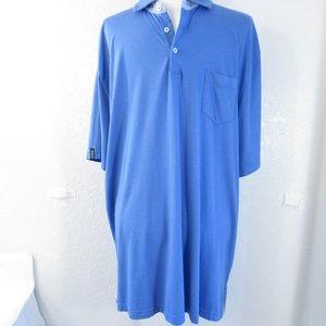 Polo Golf Ralph Lauren Blue Mens Shirt sz XL